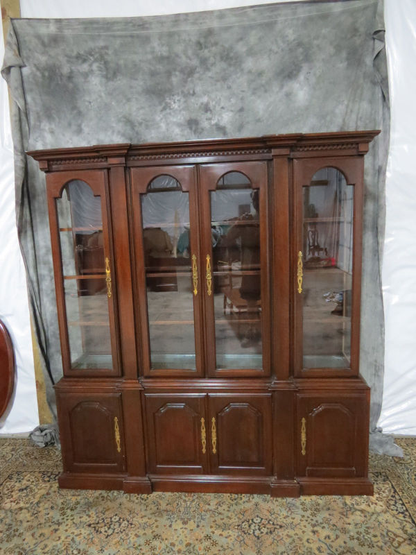 Cherry Harden China Cabinet - Casey and Gram