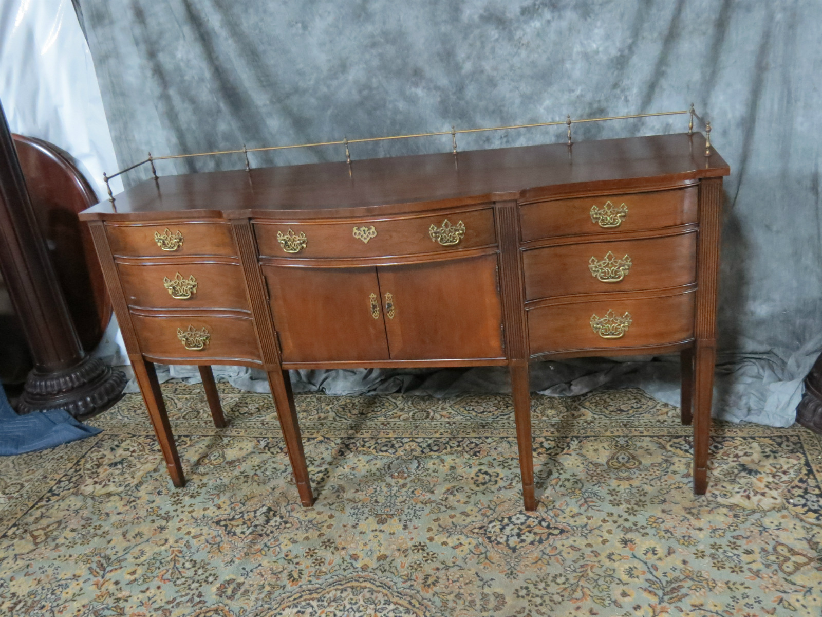 Thomasville Chippendale Mahogany Sideboard Casey And Gram