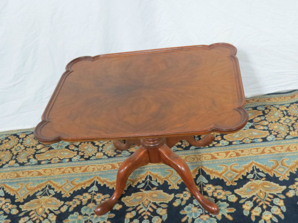 baker-mahogany-chippendale-table