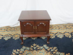 ethan-allen-cherry-side-table