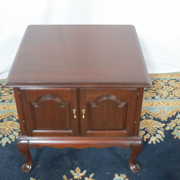 ethan allen cherry end table casey and gram