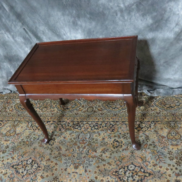 Ethan Allen Cherry Tea Table