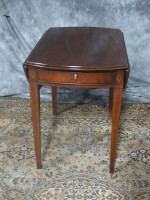 henredon-pembrook-mahogany-table