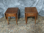 thomasville-cherry-drop-leaf-tables