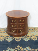thomasville-mahogany-oval-table