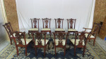 ten chippendale chairs1